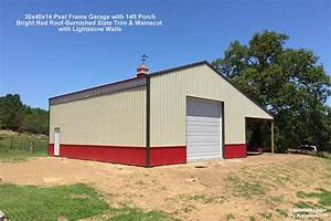 customer project photo gallery pole barns With 30x40x14 pole barn