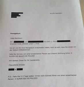 Nachbarn Schriftlich über Party Informieren : 35 nachbarn die unbedingt zettel in den flur h ngen mussten ~ Frokenaadalensverden.com Haus und Dekorationen