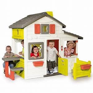 Maison Pour Enfant : le test de la maison smoby friend 39 s house cabane ~ Teatrodelosmanantiales.com Idées de Décoration
