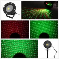 red green firefly starry shower laser light projector