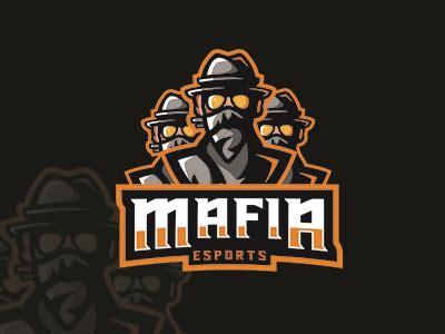 premade esports logo esports mafia team logo  sale
