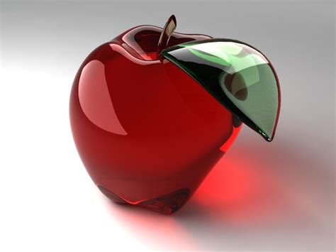 wallpapers: Glass Apple Wallpapers
