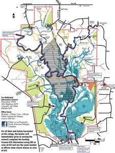 Felsenthal National Wildlife Refuge Map