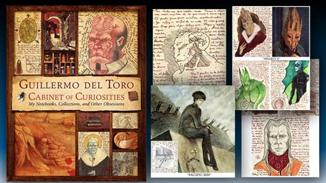 Guillermo Toro Cabinet Of Curiosities by Guillermo Toro Cabinet Of Curiosities Hardcover Book