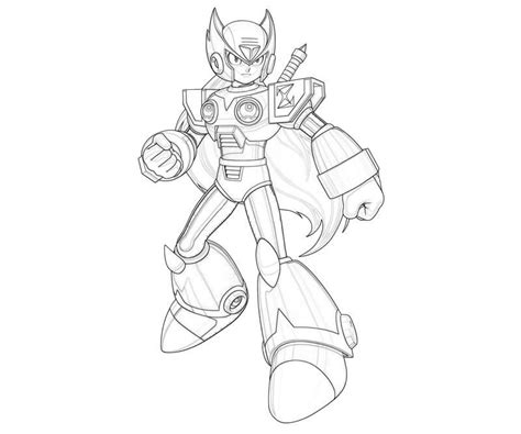 mega man coloring pages free printable coloring pages