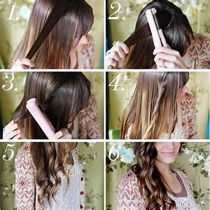 Top 10 Best Tutorials On How To Curl Your Hair With Flat