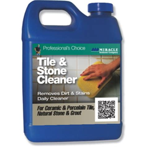 shop miracle sealants company tile cleaner quart at lowes