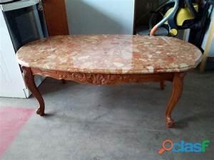 Table Basse Marbre But : table basse bois marbre clasf ~ Teatrodelosmanantiales.com Idées de Décoration