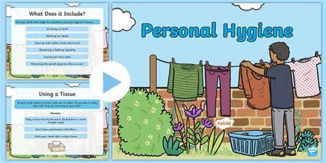Personal Hygiene Powerpoint  Health, Wellbeing,hygiene