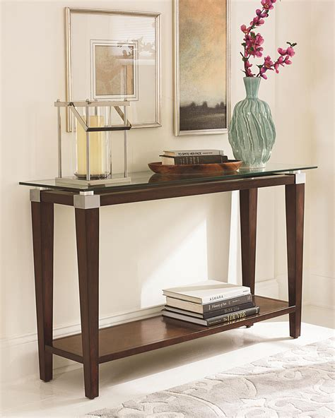wolf table with glass table top glass sofa table for a great living room decor ideas