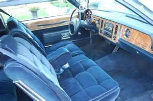 1982 Buick LeSabre Interior