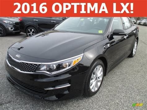 ebony black kia optima   gtcarlotcom car color galleries