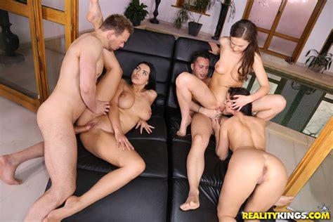 Kira Queen Pleasures Twats And Dicks In A Hot Orgy 2 Of 2