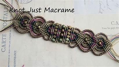 Macrame Micro Bracelet Colors Tutorial Raku Bracelets