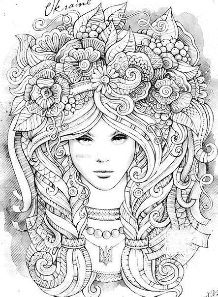 anti coloring  adults art therapy vk coloring pinterest art therapy adult coloring