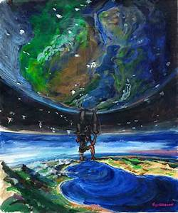 Painting Of Atlas | Aesthetic pictures, Artwork, Cover pics