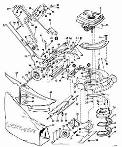 28 Push Lawn Mower Parts Diagram