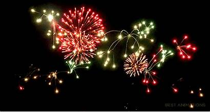 Fireworks Firework Gifs Happy Animated July Animation