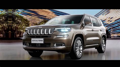 Jeep Beijing 2020 by Jeep Grand Commander Seven Seat Suv Launch Pricing