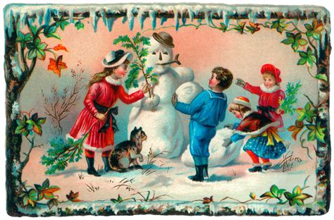 Beautiful Victorian Christmas Cards