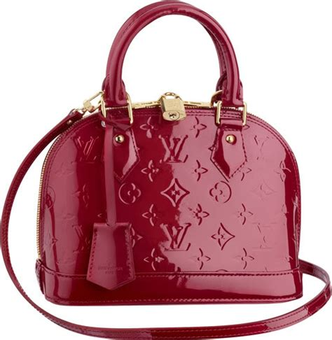 louis vuitton alma vernis bag reference guide spotted fashion