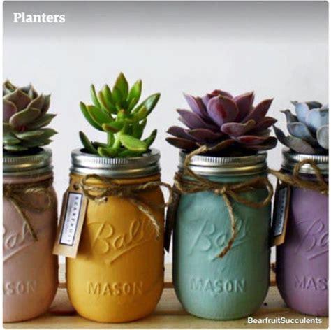 diy mason jars flower pots home design garden