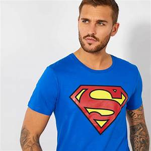 Kiabi T Shirt Homme : tee shirt 39 superman 39 homme bleu kiabi 13 00 ~ Nature-et-papiers.com Idées de Décoration