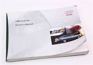 1998 Audi A6 Owners Manual - Information Book