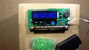 Using a Geiger counter on uranium glass and thorium ...