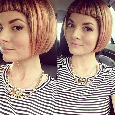 For a Different Style: Blunt Bob Haircuts
