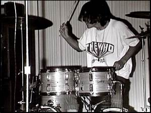 Neil Peart drums before Rush