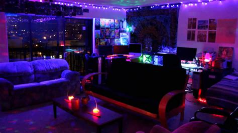 Led Lights Up Room by Trippy Lights For A Hippie Cave Trippy Room