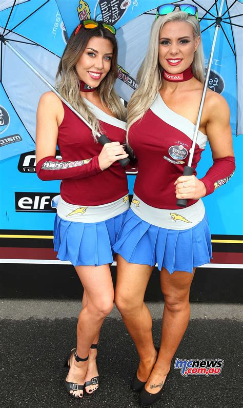 phillip island motogp grid girls mcnewscomau