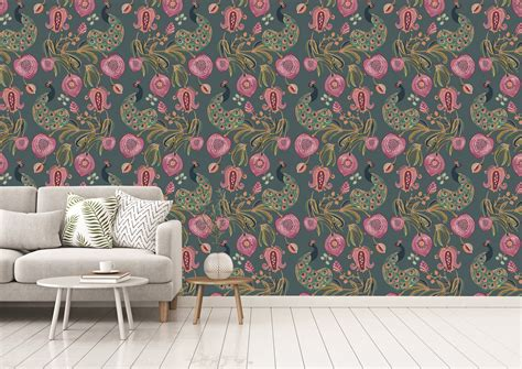 Blank walls can be a total headache when you don't have time, funds or ideas — but they certainly don't have to be. Fashion meets décor with Payal Singhal's latest wallpaper collection
