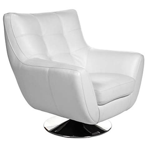 bruno accent chair ottoman white chairs living