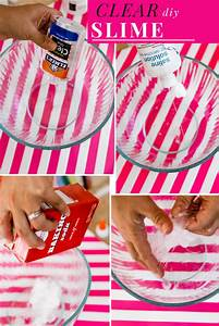 The Easiest Clear Slime Recipe With Glue