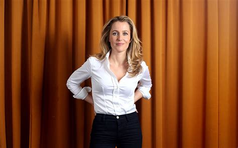 Gillian Anderson: It's time somebody was brave enough to