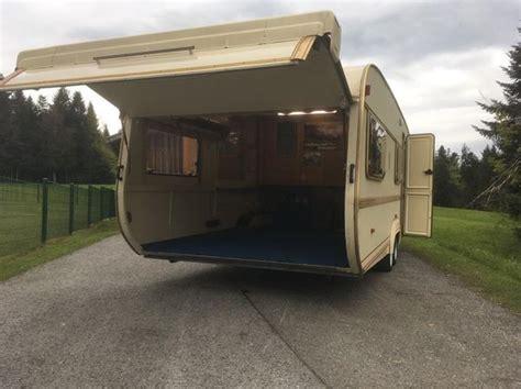 Wohnwagen Mit Garage In Krumbach  Kaufen Und Verkaufen