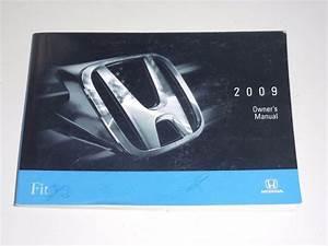 2009 Honda Fit Owners Manual Book Guide