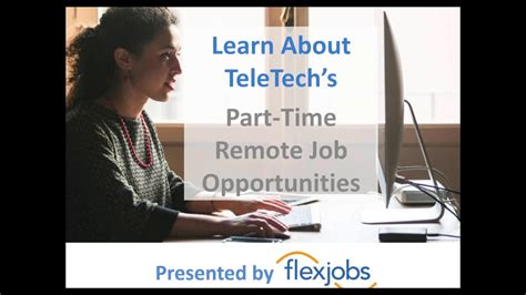 Learn About Ttec's Part-time Remote Job Opportunities