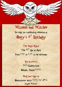 birthday invites captivating harry potter birthday party With harry potter wedding invitations template