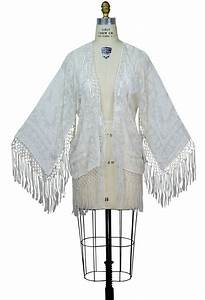 Art Deco Haus : art deco scarf jacket in ivory white by the deco haus ~ Watch28wear.com Haus und Dekorationen
