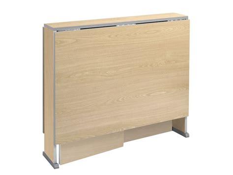 mesa abatible de madera en aglomerado  de apertura automatica