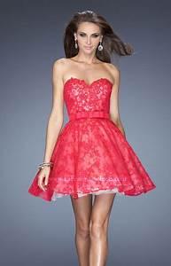 La Femme 20398 - The Perfect Valentine Prom Dress