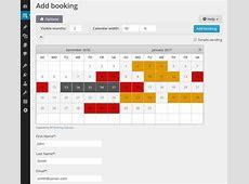 Booking Calendar WordPressorg
