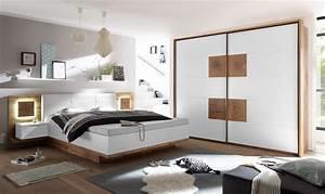 Günstige Schlafzimmer Komplett : schlafzimmer komplett set 4 tlg capri xl bett 180 ~ Watch28wear.com Haus und Dekorationen