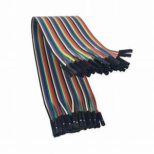 30cm 20cm 40pcs Dupont Cable Female To Female Jumper Wire