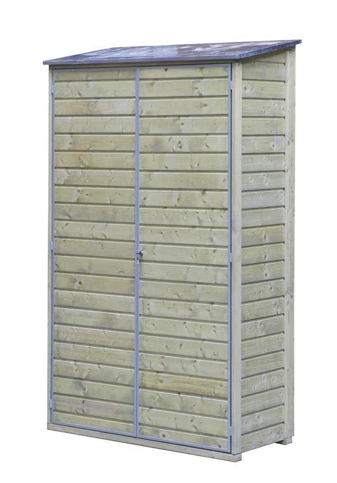 tuinkast hout gamma tuinkast hout met zinken dak 200x120x60 cm gamma