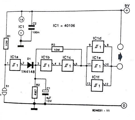 Touch Auto Off Controller For Battery Operated Equipment