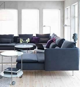 Canapé Modulable Ikea : canape ikea angle gris ~ Teatrodelosmanantiales.com Idées de Décoration